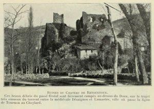 Vues_de_la_France_en_1900_-_1157_ruines_du_chateau_de_Retourtour_departement_de_l_Ardeche
